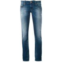 Diesel Calça Jeans Reta 'grupe' - Azul