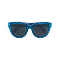 Celine Eyewear Óculos De Sol 'audrey' - Azul