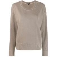 James Perse Round Neck Sweater - Marrom