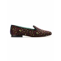 Blue Bird Shoes Slip On 'onça Colors' - Vermelho