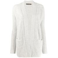 Incentive! Cashmere Cardigan Oversized - Cinza