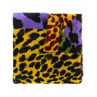 Diane Von Furstenberg Echarpe Animal Print - Roxo