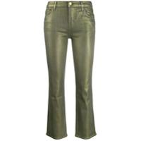 J Brand Calça Jeans Skinny Cropped - Verde
