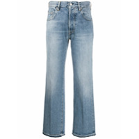 Golden Goose Calça Jeans Cintura Alta - Azul