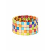 Roxanne Assoulin Pulseira Golden Rainbow - Dourado