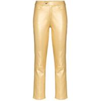 Skiim Calça Slim - Dourado