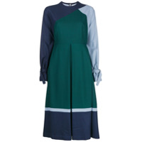 Bodice Studio Vestido Com Pregas - Verde