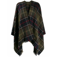 Barbour Poncho Staffin Xadrez - Verde