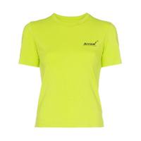 Ader Error Camiseta Com Estampa De Logo - Verde