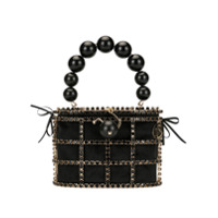 Rosantica Holli Bead-Embellished Bag - Preto