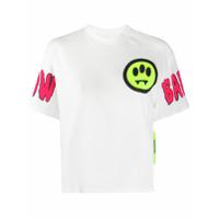 Barrow Camiseta Mangas Curtas Com Patchwork - Branco