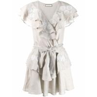 Innika Choo Vestido Envelope - Cinza