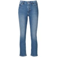 Mih Jeans Calça Jeans Niki Cropped - Azul
