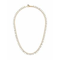 Isabel Marant Choker Com Franjas - Dourado