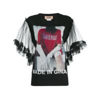 Gina Gina Gorgeous T-Shirt - Preto
