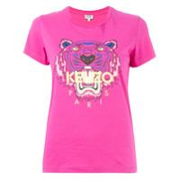 Kenzo Camiseta 'tiger' - Rosa
