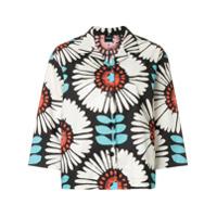 Aspesi Camisa Com Estampa Floral - Preto