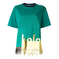 Kolor Camiseta Mangas Curtas - Verde