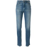 Paige Calça Jeans Reta - Azul