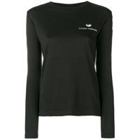 Chiara Ferragni Camiseta Com Estampa - Preto