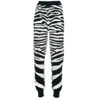 Sykes Calça Esportiva Com Estampa De Zebra - Azul
