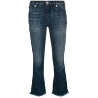 Love Moschino Calça Jeans Cropped - 695W Denim Medio