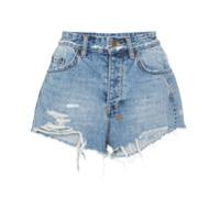 Ksubi Short Jeans 'tongue N Cheek' - Azul