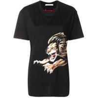 Givenchy Camiseta Com Estampa Lion - Preto
