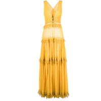Jonathan Simkhai Vestido Longo - Amarelo