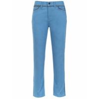 Tory Burch Calça Jeans Skiny - Azul