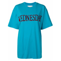 Alberta Ferretti Camiseta Wednesday - Azul