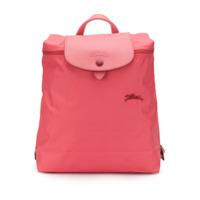 Longchamp Le Pliage Logo Backpack - Rosa