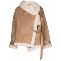 Shoreditch Ski Club Darling Oversized Jacket - Neutro