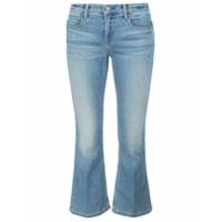 Alexander Wang Calça Jeans Cropped - Azul