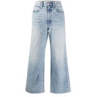 Slvrlake Calça Jeans Cropped Cintura Média Azul