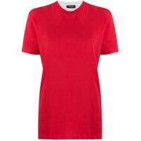 Dsquared2 Camiseta Decote Arredondado - Vermelho