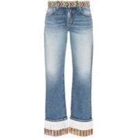 Alanui Calça Jeans Boyfriend - Azul