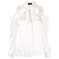 Rta Blusa Com Ombros Vazados - Branco