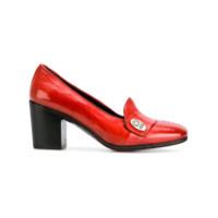 Alberto Fasciani Sapato De Couro - Vermelho
