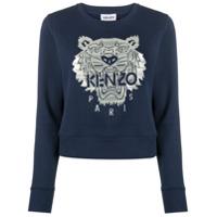 Kenzo Moletom Tiger - Azul