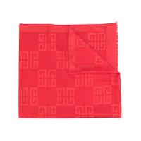 Givenchy Echarpe Com Logo - Vermelho