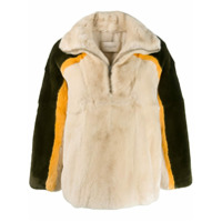 Sprung Frères Manitoba Fur-Trim Sweater - Neutro