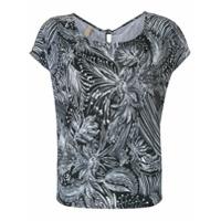 Lygia & Nanny Camiseta Simi Estampado - Preto
