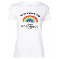 Chiara Ferragni Camiseta Colorado - Branco