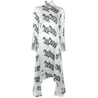 Misbhv Vestido Com Estampa - Branco