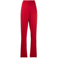 Isabel Marant Calça Cintura Alta Amaya - Vermelho