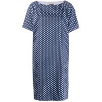 Altea Vestido Padronagem Geométrica - Azul