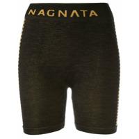 Nagnata Short Suki Com Listras Na Lateral - Preto