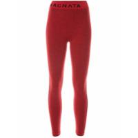 Nagnata Legging Laya De Tricô - Vermelho