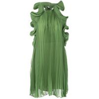 Amur Vestido Com Acabamento De Babados - Verde
